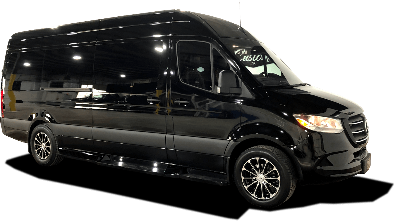 First Class Customs Luxury Sprinter Vans, Custom CEO SUV's & Limo Party Buses